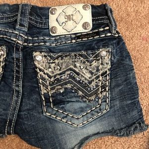 Miss Me Denim Shorts